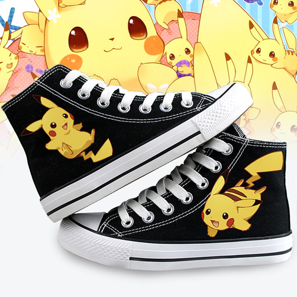 Fashion Pikachu Canvas Shoes  JK1376