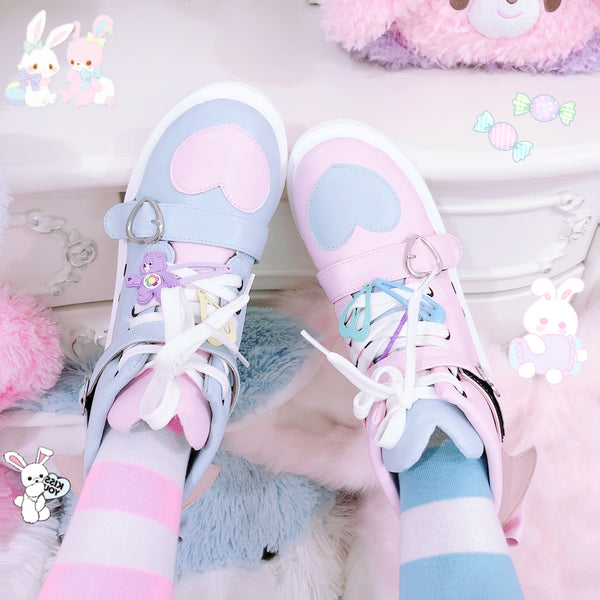 Fashion Lolita Heart Sneakers JK2081