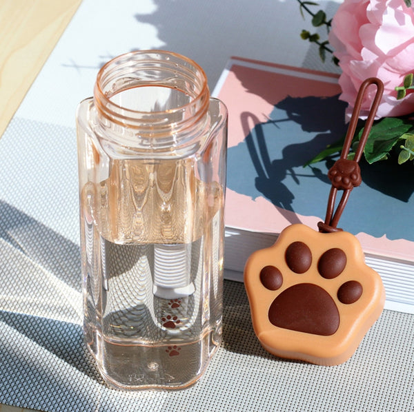 Lovely Cat Paw Water Bottle JK2209
