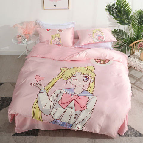 Sailormoon Usagi Four Piece-suit Bedding JK2068