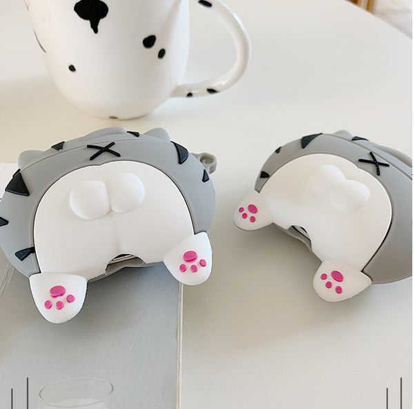 Cute Cats Ass Airpods Protector Case  JK1833