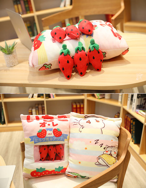 Kawaii Strawberry Dolls  JK2104