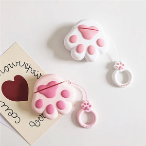 Lovely Cats Paw Airpods Protector  JK1539