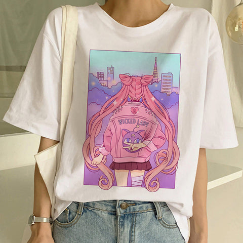 New Style Harajuku Sailormoon T-shirt JK1766