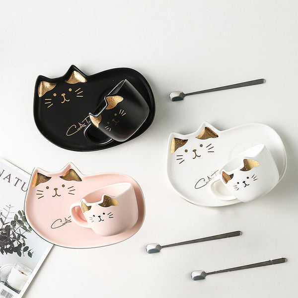 Cute Cats Mug Cup Set JK2152