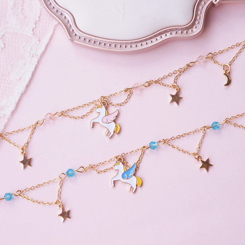 Kawaii Unicorn Bracelet JK1571