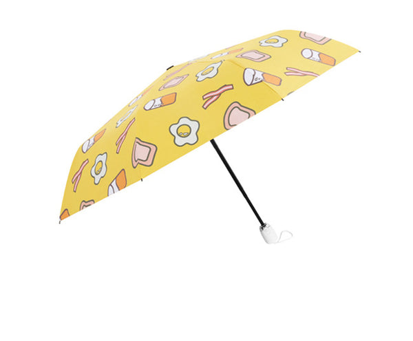 Cute Foods Folding Sun Umbrella JK2375