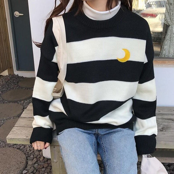 Stripe Sailor Moon Sweater  JK1246