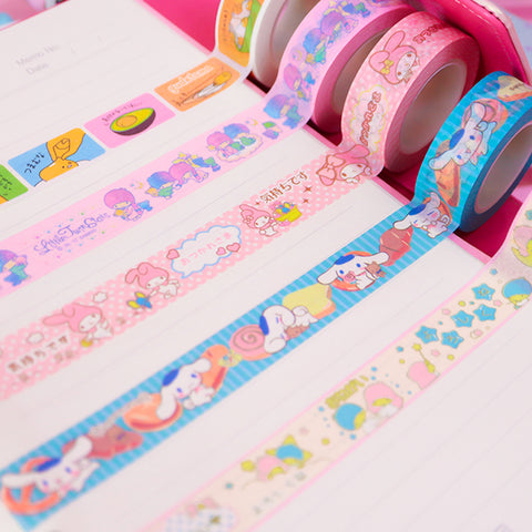 Cartoon Tape Stickers JK2586