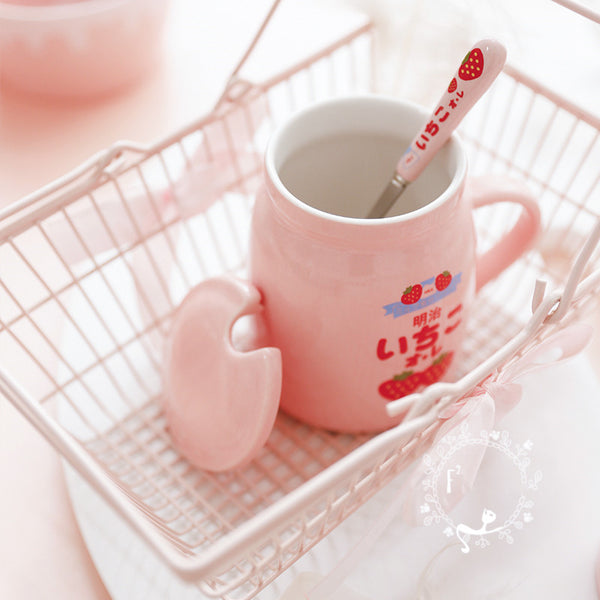 Strawberry Anime Mug Cup JK2433