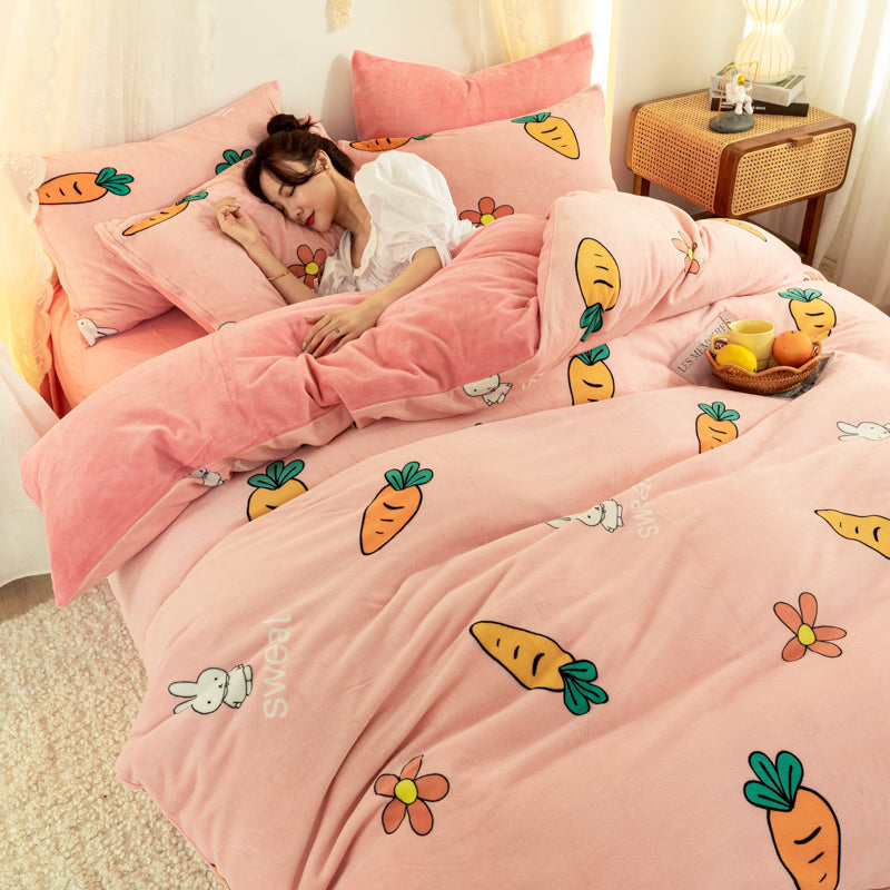 Sweet Carrot Bedding Set JK2590