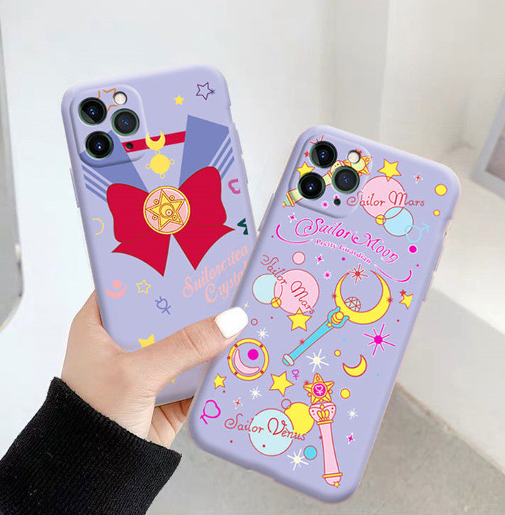 Sailor Moon Phone Case for iphone7/7plus/8/8P/X/XS/XR/XS Max/11/11 pro/11 pro max JK2244