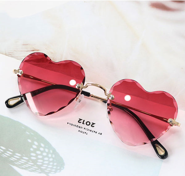 Fashion Hearts Sun Glasses JK1500