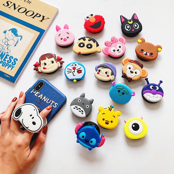 Cute Cartoon Folding Phone Rings JK1311
