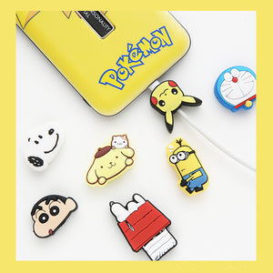 Cartoon Doraemon Phone Charger Date Wire Protector JK1900