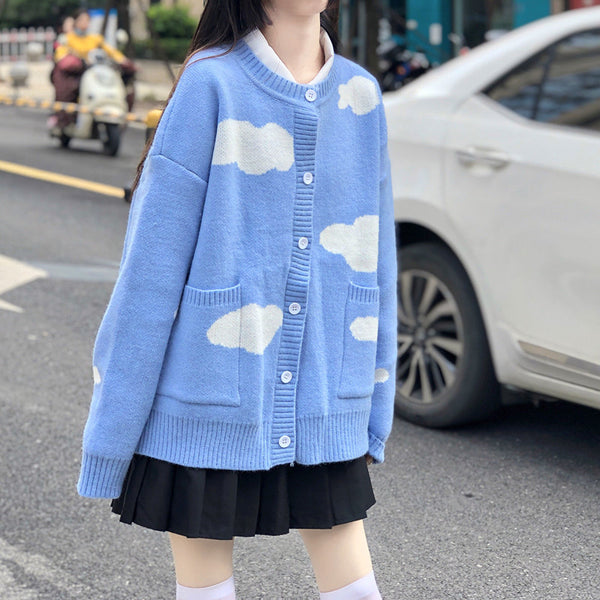 Fashion Cloud Sweater Coat JK2700