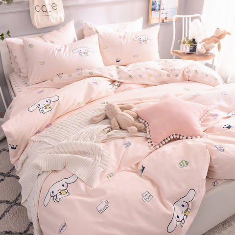 Kawaii Cinnamoroll Four Piece-suit Bedding JK1509