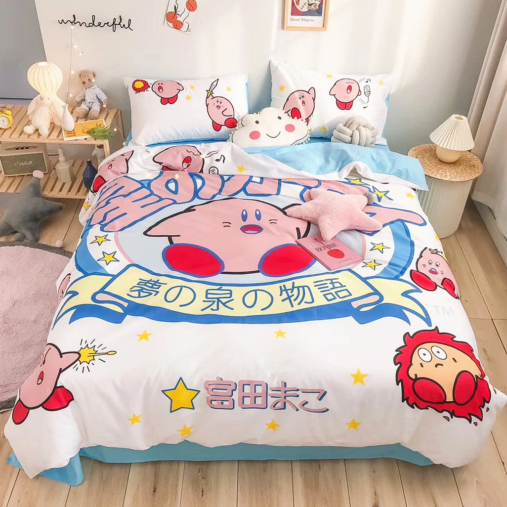 Cute Kirby Bedding Set JK1844