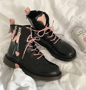 Fashion Heart Martin Boots JK2597