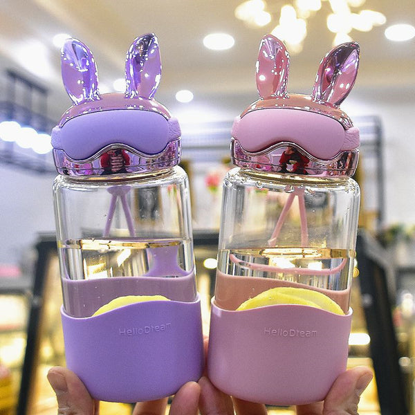 Cute Rabbit Ear Water Bottle JK1812
