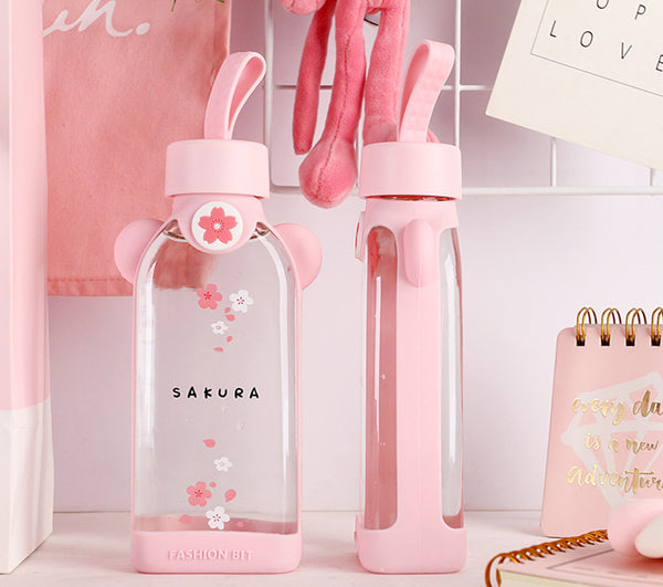 Cute Sakura Water Bottle  JK2113
