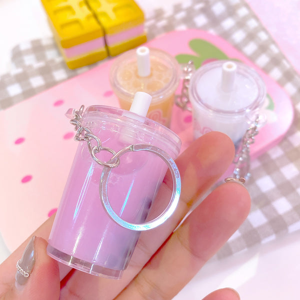 Rabbit Bubble Tea Keychain JK2102