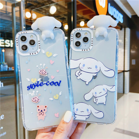 Cute Dog Phone Case for iphone 6/6s/6plus/7/7plus/8/8P/X/XS/XR/XS Max/11/11 pro/11 pro max JK2653