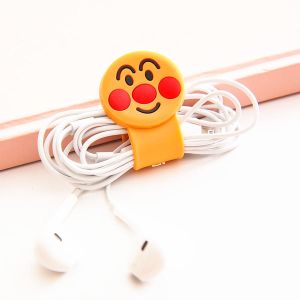 Totoro And Cartoon Earphone Wire Collector  JK1101