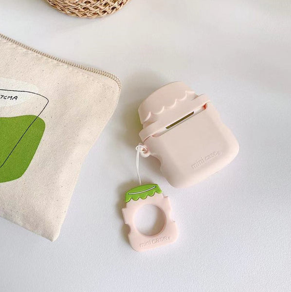 Lovely Milk Bottle Airpods Protector  JK1559
