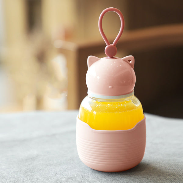 Lovely Cat Water Bottle JK2567