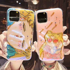 Sailormoon Phone Case for iphone7/7plus/8/8P/X/XS/XR/XS Max/11/11 pro/11 pro max JK1948