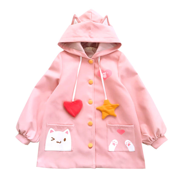 Lovely Cats Hoodie JK1211