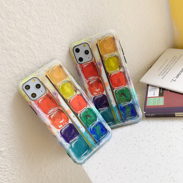 Watercolor Phone Case for iphone 7/7plus/8/8P/X/XS/XR/XS Max/11/11 pro/11 pro max JK2234