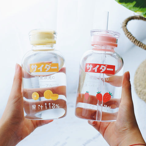 Kawaii Fruits Water Bottle JK2346