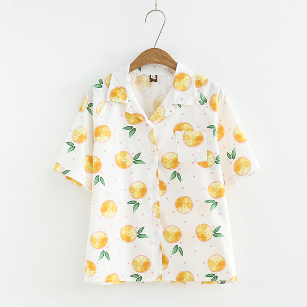 Fashion Fruits T-shirt JK2144