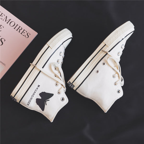 Fashion Butterfly Canvas Shoes JK2301