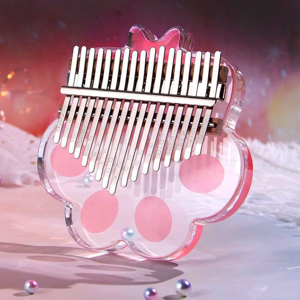 Cute Cat Paw  Kalimba Thumb Piano JK2651