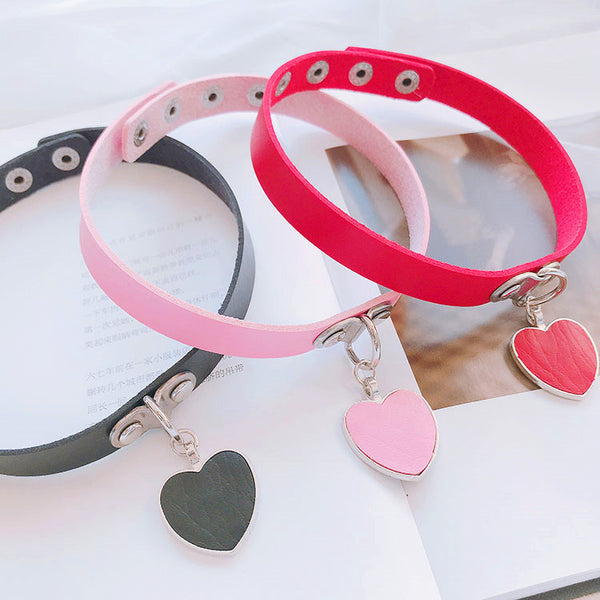 Fashion Heart Choker JK1498
