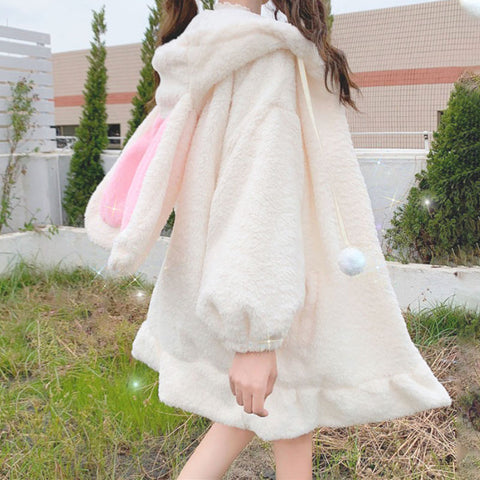 Lovely Rabbit Ears Coat JK2554