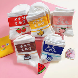 Cute Fruits Socks JK2133