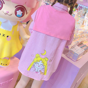 Lovely Usagi Girl Long Sleeve T-shirt JK2282