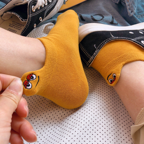 Smiley Face Socks JK1362