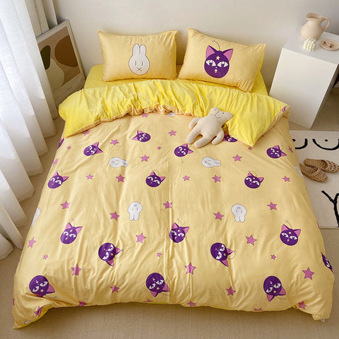 Sailormoon Luna Four Piece-suit Bedding JK1946