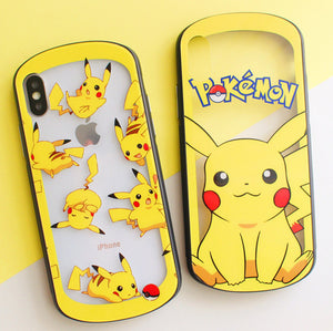 Lovely Pikachu Phone Case for iphone 6/6s/6plus/7/7plus/8/8P/X/XS/XR/XS Max JK1750