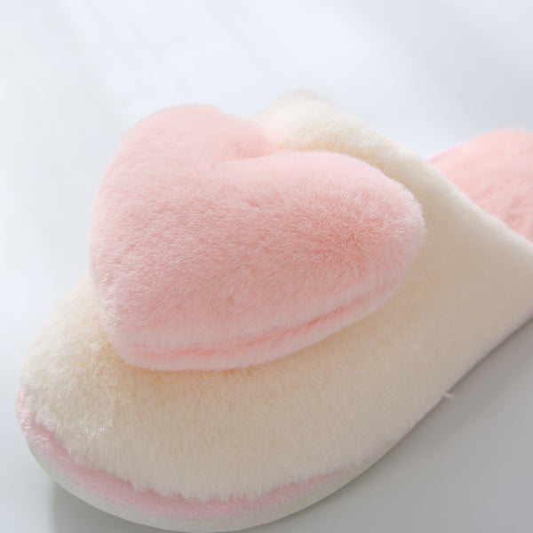 Soft Heart Slippers JK2639