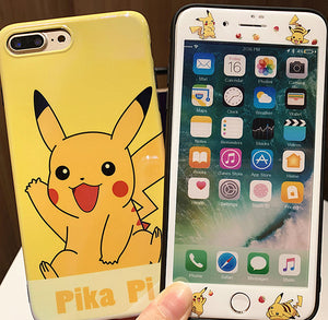 Pikachu Phone Case for iphone 6/6s/6plus/7/7plus/8/8P/X/XS/XR/XS Max JK1570