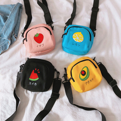 Kawaii Fruits Shoulder Bag JK2200