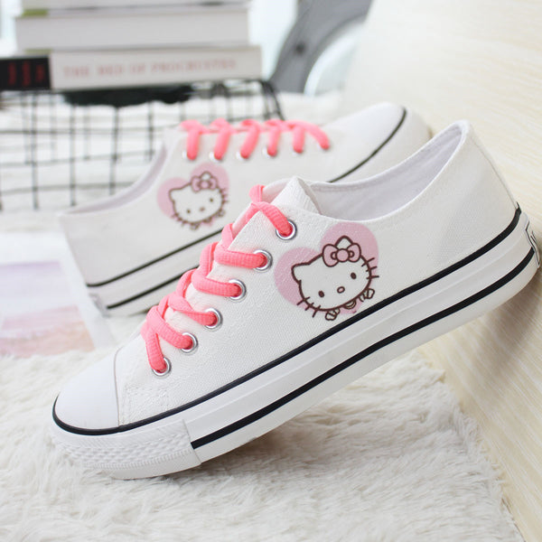 Hellokitty Canvas Shoes  JK1689