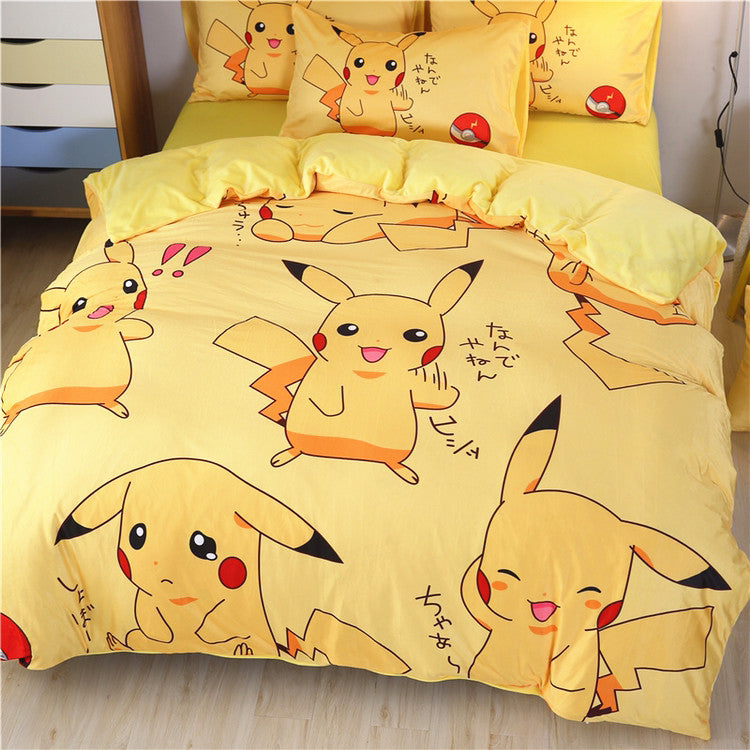 Lovely Pikachu Bedding Set JK1979