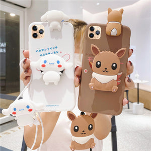 Lovely Dog Phone Case for iphone 6/6s/6plus/7/7plus/8/8P/X/XS/XR/XS Max/11/11 pro/11 pro max JK2572